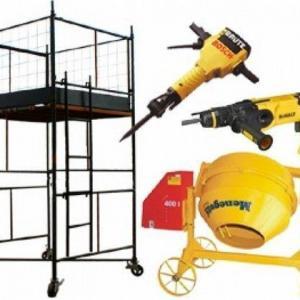 Aluguel de ferramentas para construção civil